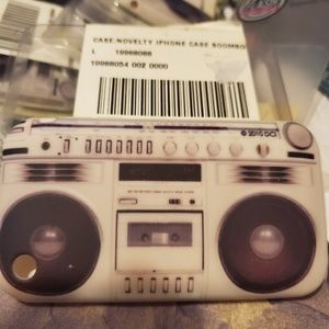 Urban Outfitters Boombox Novelty I-Phone Case NEW